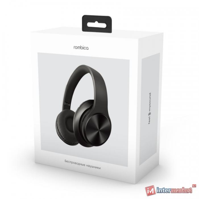 Bluetooth гарнитура Rombica MySound BH-14, 20Hz-20kHz, 32 Om, 110 dB, BT 5.0, microSD, Black