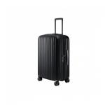 "Чемодан, NINETYGO Elbe Luggage 24"", 6941413270472, 65л, Поликарбоната Makrolon, Замком TSA, Черный"