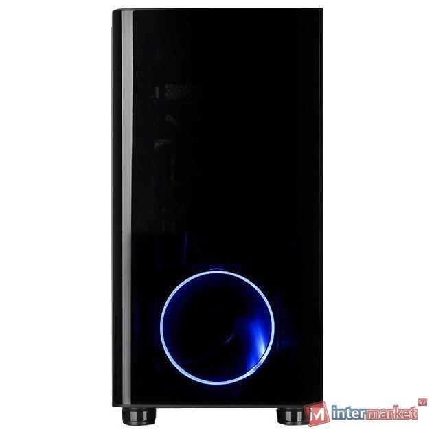 Кейс, Thermaltake, View 31 (CA-1H8-00M1WN-00), ATX/Micro ATX, USB23.0, HD-Audio+Mic, Контроллер , Кулер 12см, Кулер 12см LED, Без Б/П, Чёрный