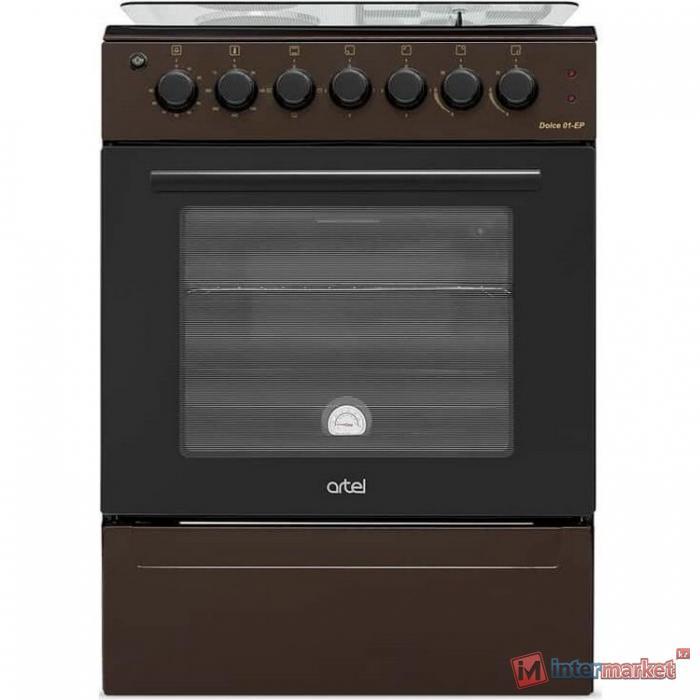 Плита газовая электрическая Artel DOLCE 01-EX, (коричневый)