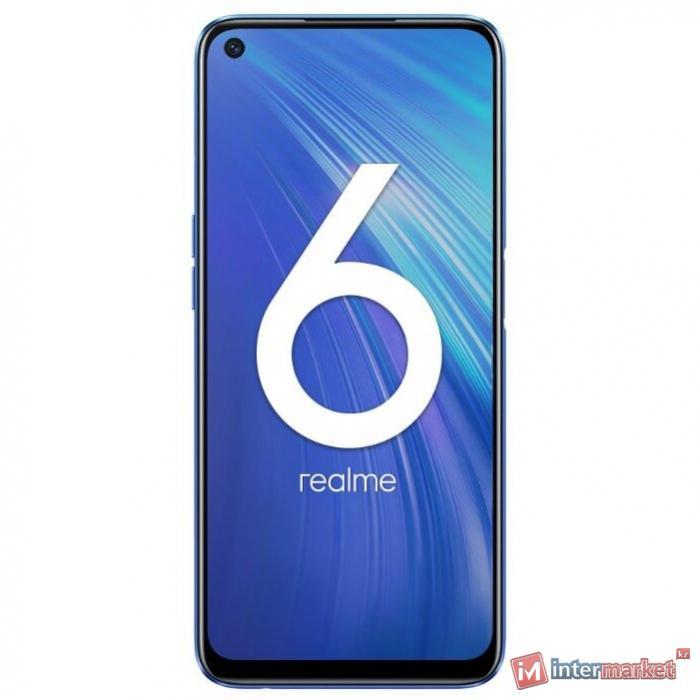 Смартфон Realme 6 (8128Gb), Blue(013032)